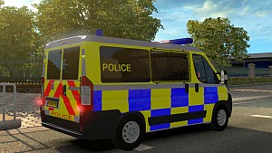 Euro Police car pack mod 3.0