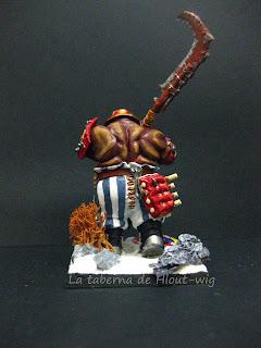 Ogros tripasduras: ogro con guadaña
