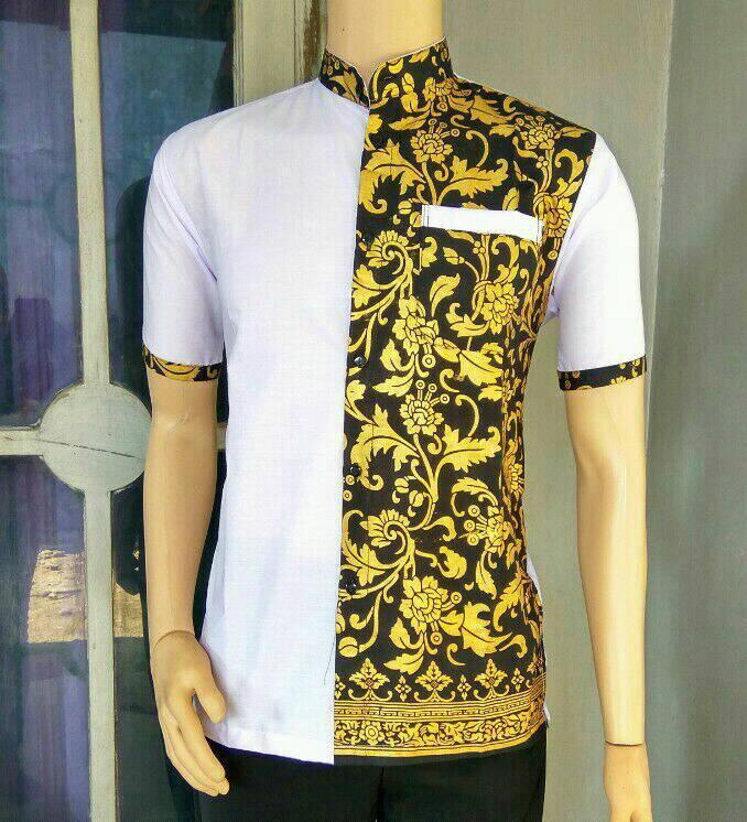 Baju Batik Pria Lazada: 20+ Model Baju Batik Pria Kombinasi Terbaru
