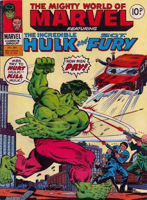 Mighty World of Marvel #281, the Hulk