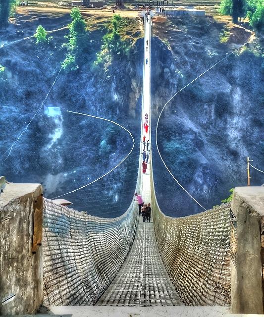 Kusma Gyadi Bridge Nepal A1 Pictures