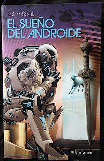 Portada del libro El sueño del androide, de John Scalzi