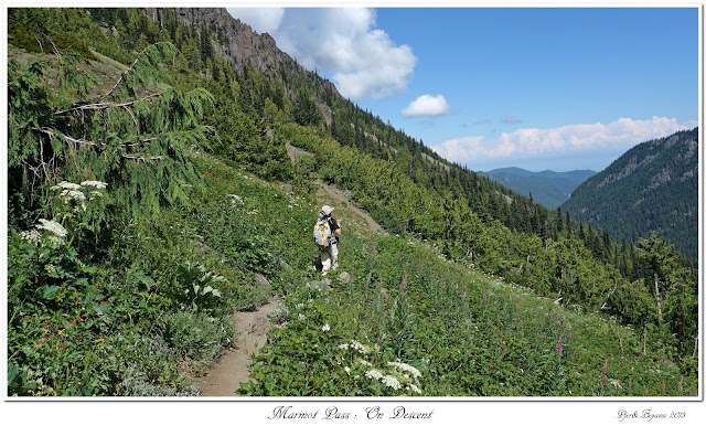 Marmot Pass: On Descent