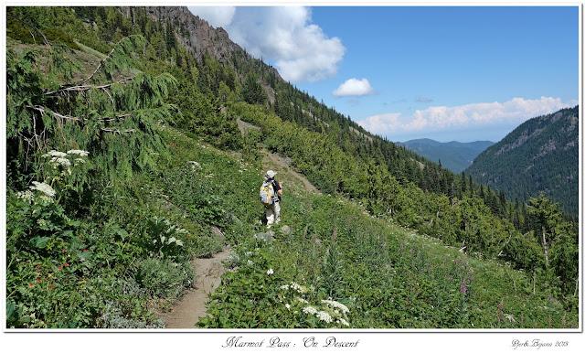 Marmot Pass: On Descent
