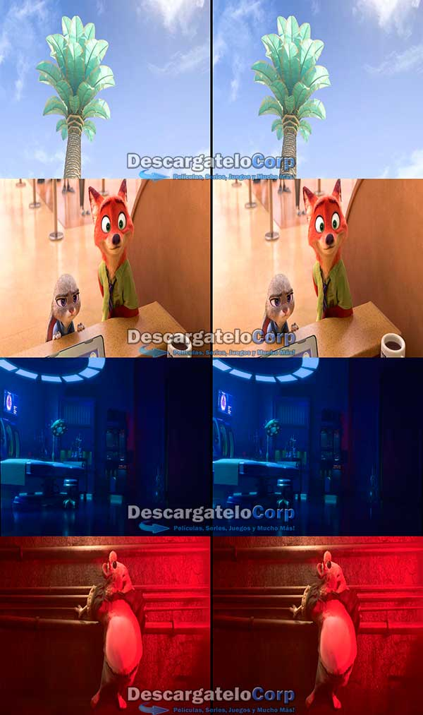 Zootopia 3D HD Latino