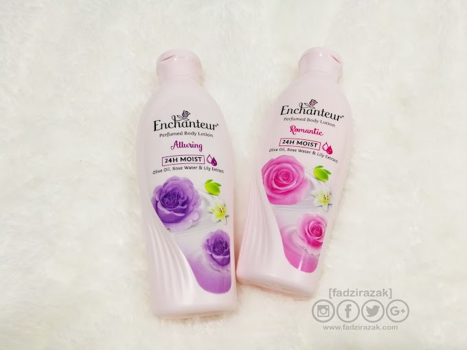 Enchanteur 24H Moist Perfumed Body Lotion Review