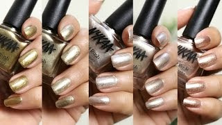 Nykaa Nails Gold Rush Collection