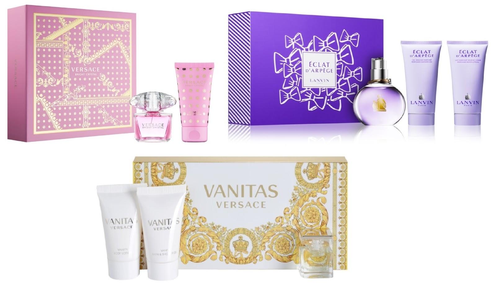 darčekové sady parfémov