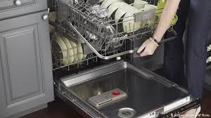 تنظيف غسالة الصحون