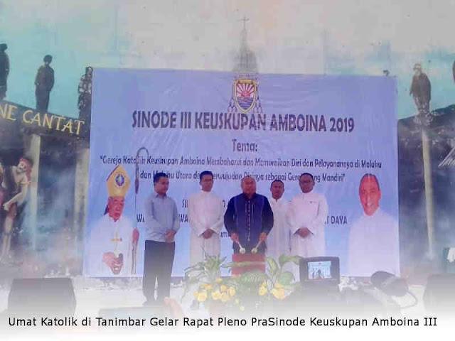 Umat Katolik di Tanimbar Gelar Rapat Pleno PraSinode Keuskupan Amboina III