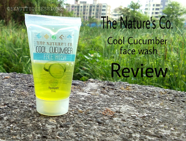 The Nature's Co. Cool Cucumber Face Wash Review