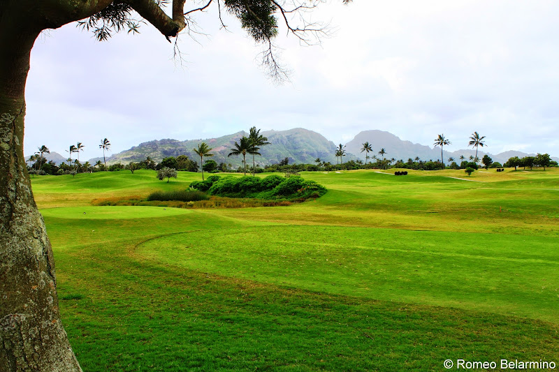 Kiele Moana Kauai Lagoons Golf Club Hawaii