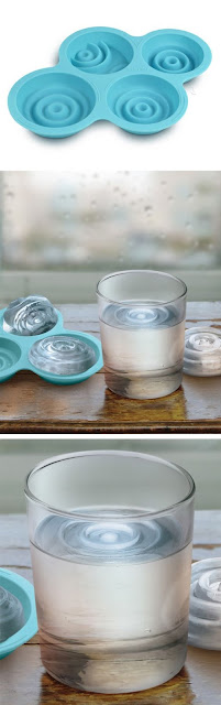 夏に欲しい?個性的な氷を作れる製氷皿、6選 波紋が広がる氷