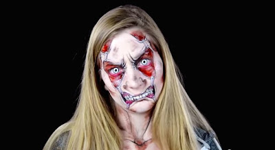 Body paint en una mujer