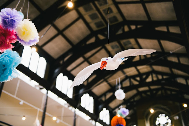 The Wedding: Decorations and venue by Laura Lewis