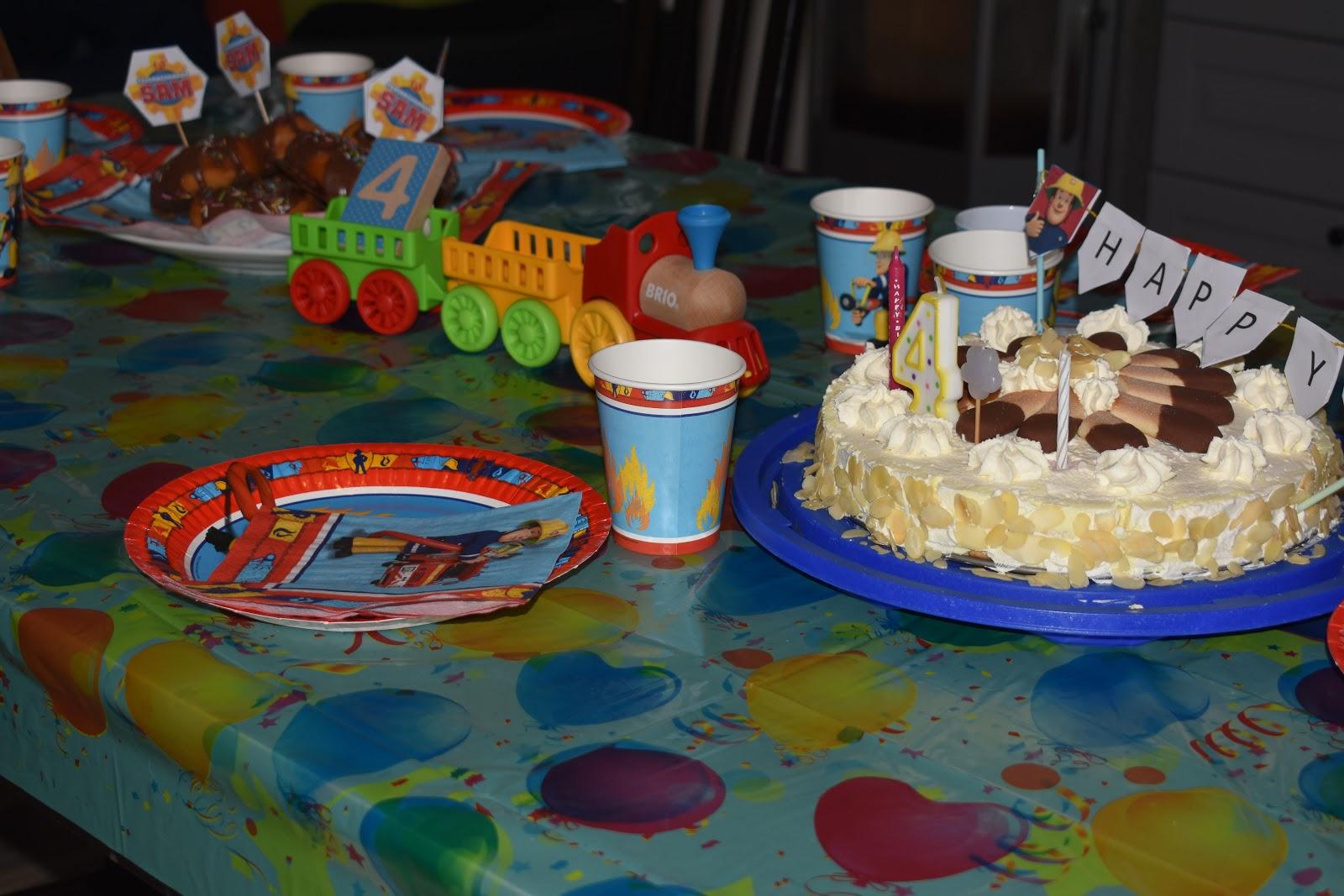 Feuerwehrmann Sam Geburtstag Mit Wenig Aufwand 4 Geburtstag