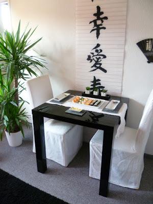 Wohnung im Asialook