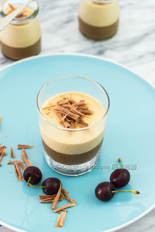 咖啡奶凍  Layered Coffee Panna Cotta03