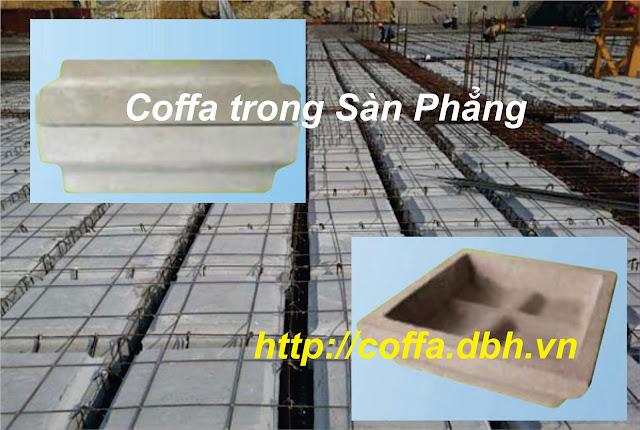 Coffa trong sàn Phẳng