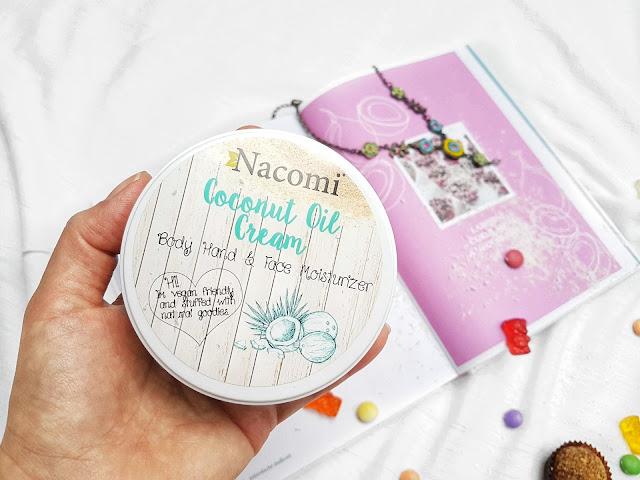 kokosový krém body hand face moisturizer nacomi