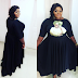 Eniola Badmus steps out in lovely face print dress