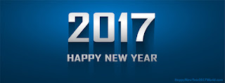 Happy New Year 2017 FB timeline profile cover photo for Facebook