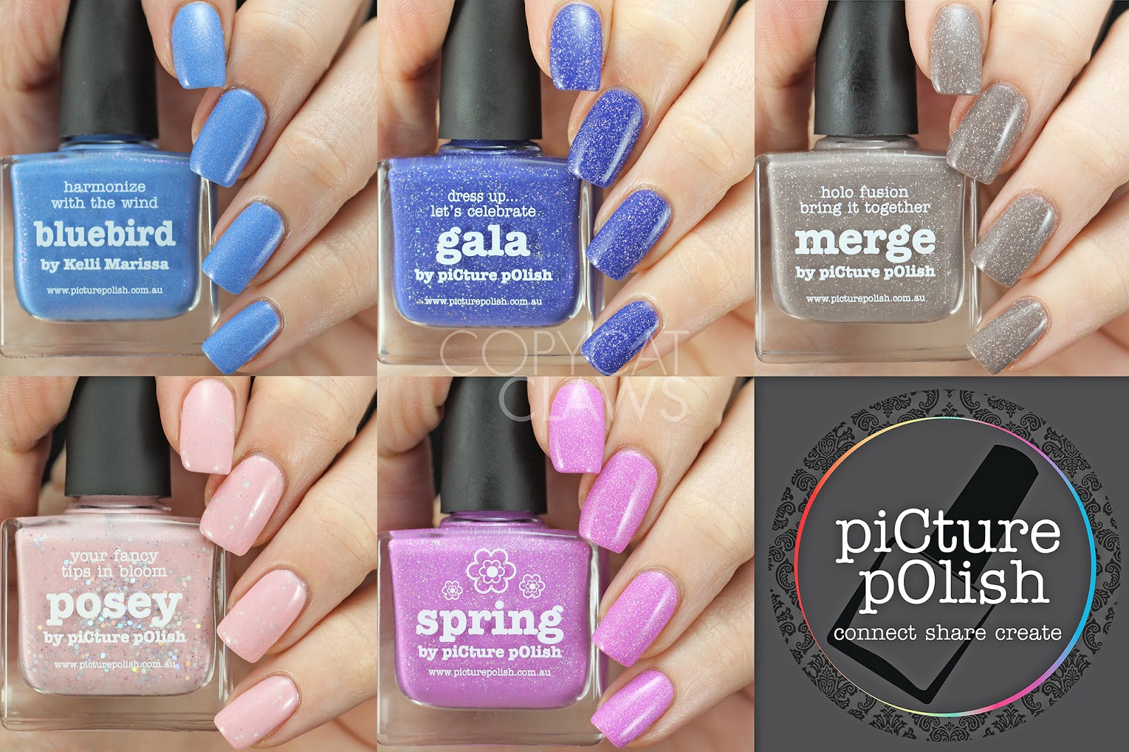 Copycat Claws: Picture Polish March 2016 Shades and Jelly Stamper ...