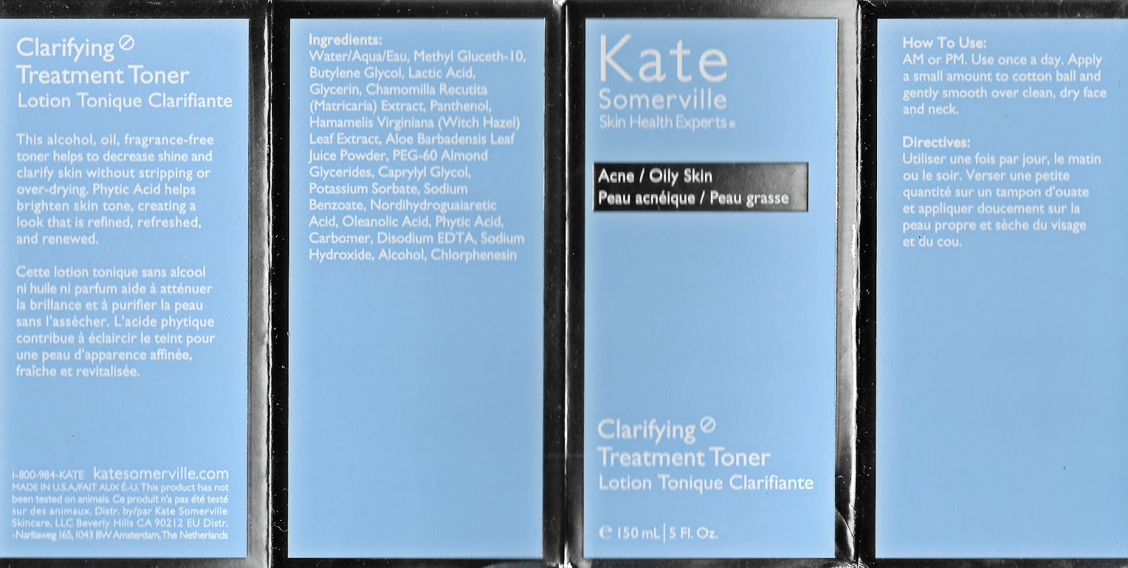 lavlilacs Review Kate Somerville Clarifying Treatment Toner packaging