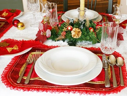 A mi manera c mo adornar la casa en navidad for Decoraciones navidenas para hacer en casa
