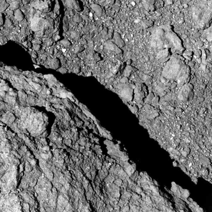 Penelitian New photo of Ryugu asteroid from Japan's MINERVA-II1 rovers