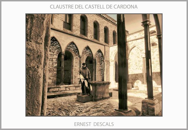 CARDONA-CASTELL-CLAUSTRE-ROMÀNIC-POU-CASTELLS-CATALUNYA-CASTILLO-FOTOS-EXCURSIONS-HISTORIA-ARTISTA-PINTOR-ERNEST DESCALS-