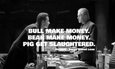 BULL MAKE MONEY. BEAR MAKE MONEY. PIGS GET SLAUGHTERED. PIGS GET SLAUGHTERED, Motivational Trader Quote. Quote, Inspirational Quote