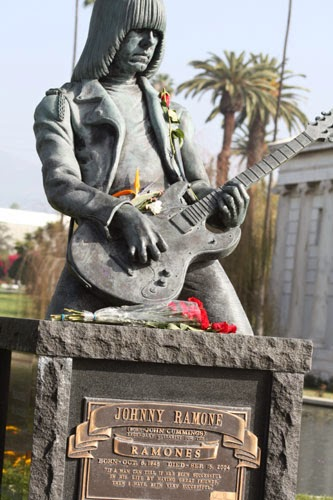 Rock n Roll Grave Stone