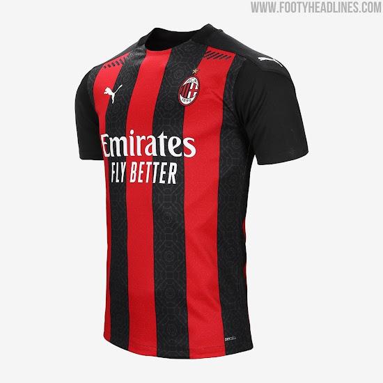 Ac Milan 20 21 Home Kit Released Footy Headlines