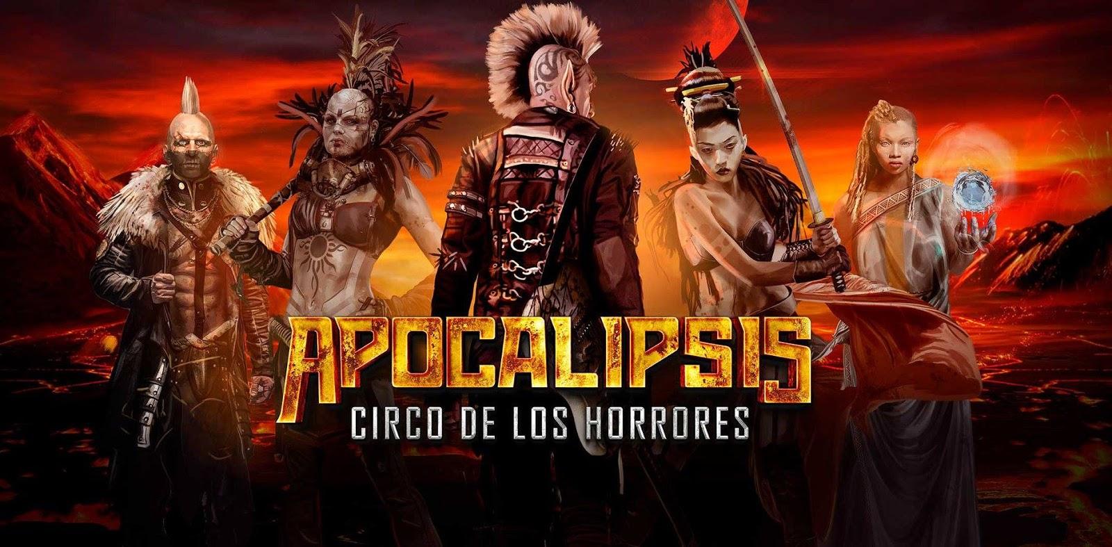 Resultado de imagen de el circo de los horrores apocalipsis