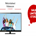 Refurbished Videocon HD LED TV 32' Rs. 6599 Only @ Dhamaal Shop