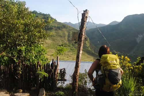 Hiking in Batad Rice Terraces