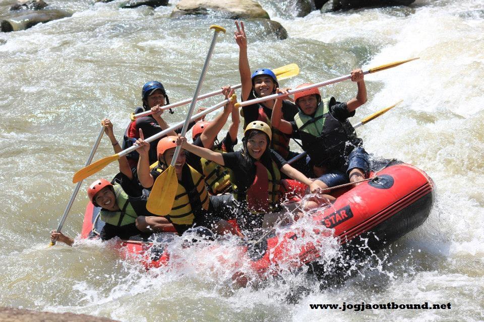 Arung Jeram Sungai Progo Bawah