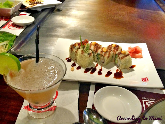 The Volcano Roll at Benihana, Kuwait