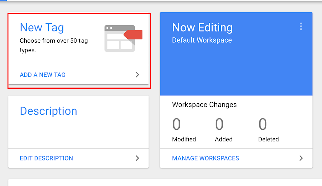 Add new tag Google Tag Manager