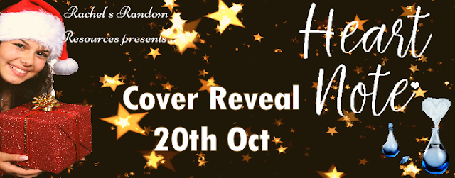Cover Reveal: Heart Note by Cassandra O'Leary