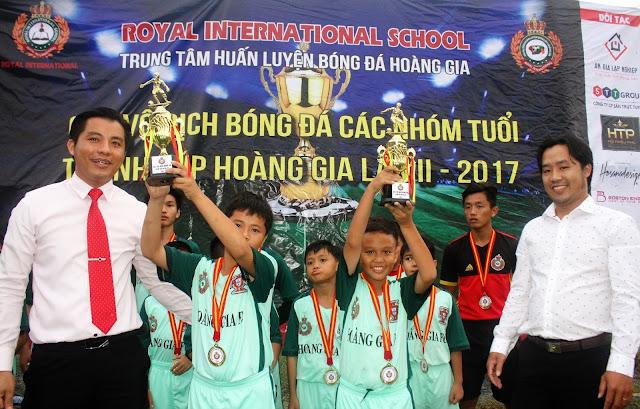 ĐÁ BÓNG TRANH CÚP HOÀNG GIA LẦN II-2017