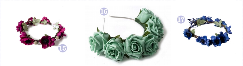 flower crown accesories