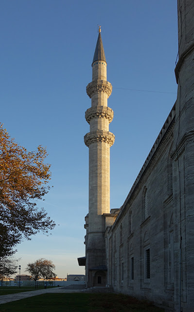 Mimar Sinan, Minaret, Masjid Süleymaniye, Istanbul, 1558