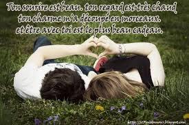 Mots d'amour beau je t'aime mon homme