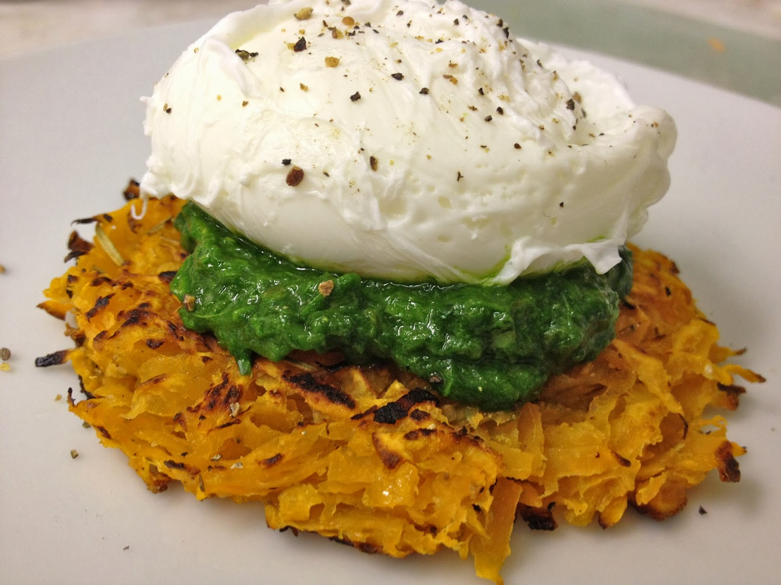 Watch Potato Rosti with Poached Egg and Bacon Recipe video