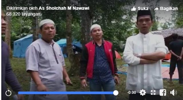Ini Video Ustadz Abdul Somad Serukan Coblos Nomor 2