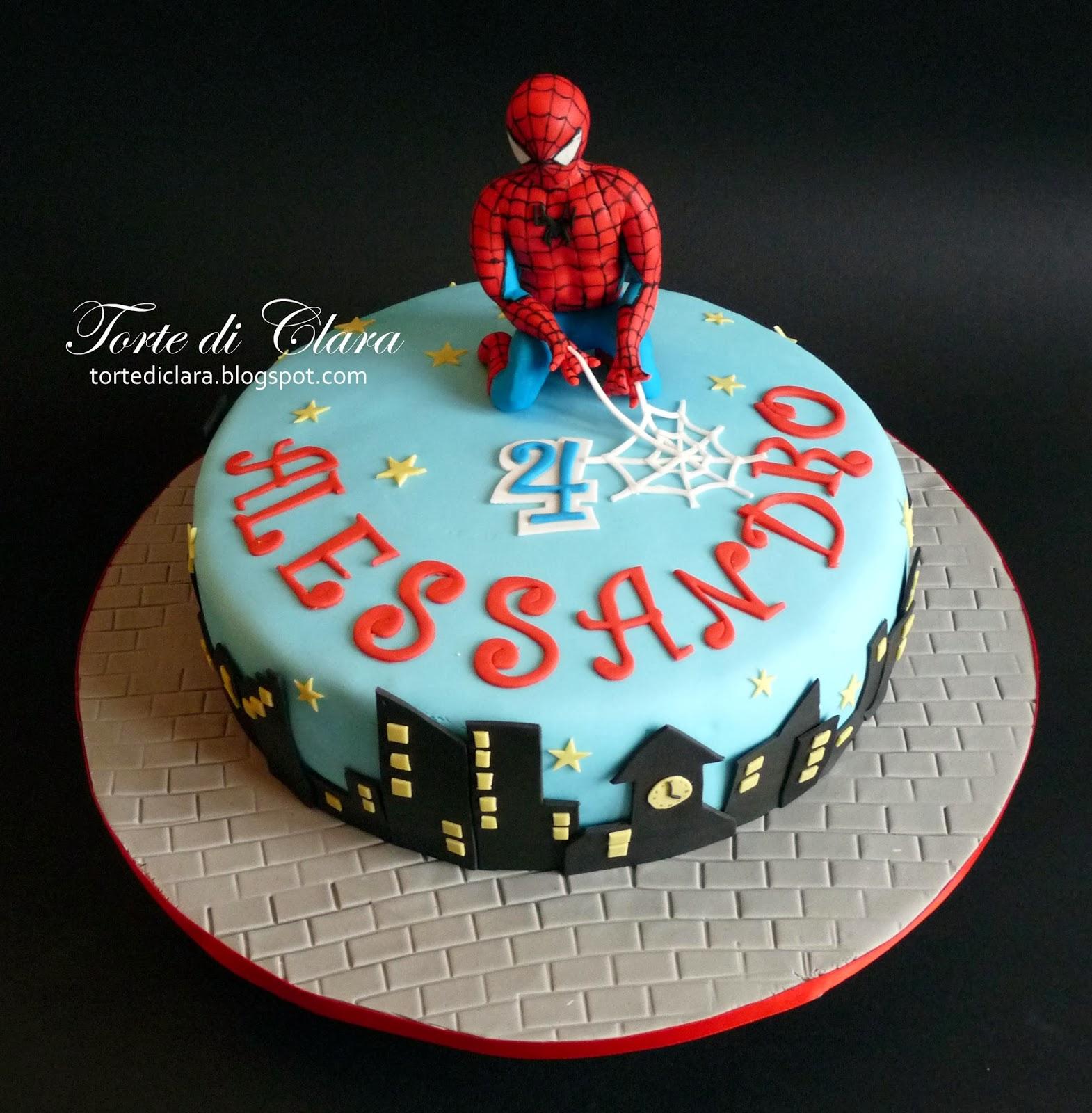Torte Di Clara Spiderman Cake