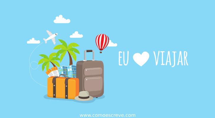 Viagem ou viajem
