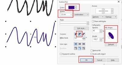 Cara Desain ulang tanda tangan buram dengan CorelDRAW